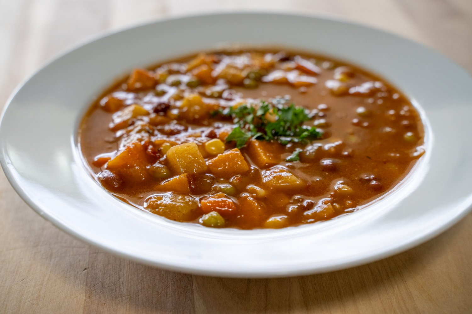 Midwest Vegetable Soup